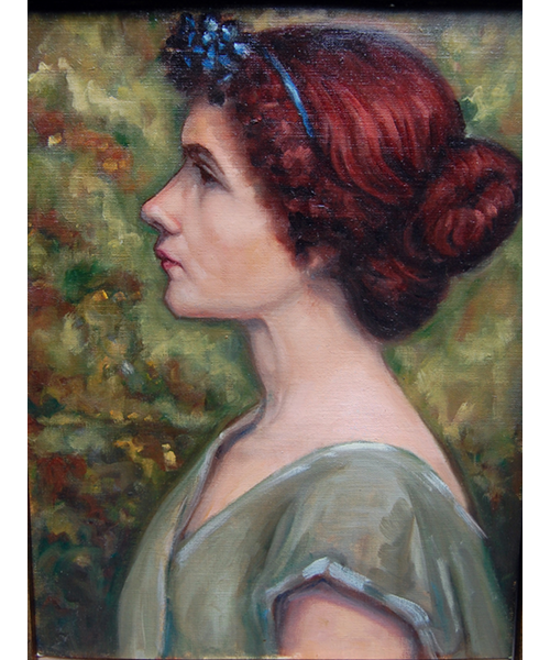 Lady in Green - Linda Graves