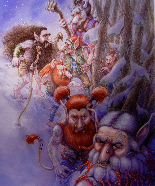 Trolls in the Forest - Linda Graves